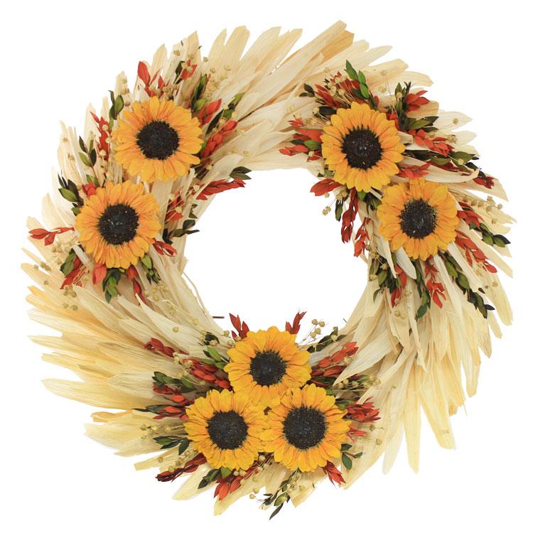 Sunflower & Corn Husk Collection